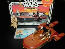 $ VTG~1977~1978~Kenner~Star~Wars~Luke~Skywalker s~sonic~landspeeder~vehicle~lot~