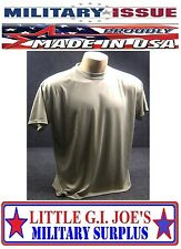 4-PACK Military Issue Desert Sand Moisture Wicking Military T-Shirt SIZE X-LARGE