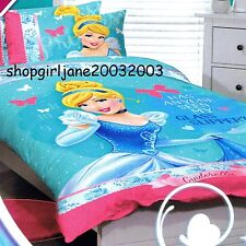 Disney Princess Cinderella- Glass Slipper - Single/US Twin Bed Quilt Doona Cover