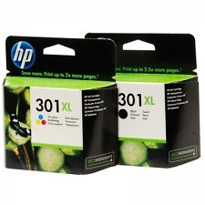 2 CARTUCHOS  HP 301XL NEGRO + 2 HP 301XL  COLOR