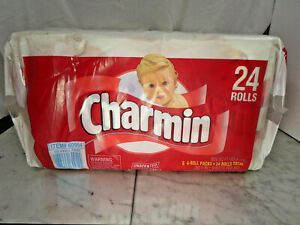 Vintage 1997 24 Roll Charmin Toilet Paper Prop 90s Rare! 2 of 2!
