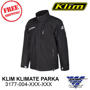 Klim Klimate Parka 300 Gram Insulated Gore-tex Snowmobile Jacket Coat