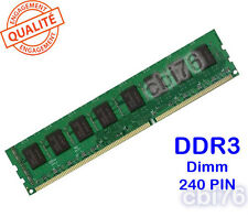 Mémoire 4GO/GB DDR3 PC3-10600 240PIN 1333MHZ memory DIMM PC tour desktop U