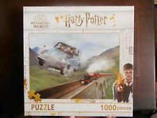 Harry Potter Movie Collage 1000 Piece Jigsaw Puzzle WIZARDING WORLD