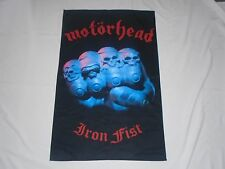 MOTORHEAD IRON FIST TEXTILE FLAG