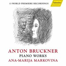 Bruckner / Markovina - Piano Works [New CD]