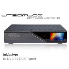 Dreambox DM920 UHD 4K E2 Linux Receiver mit 1 x DVB-S2 Dual Tuner