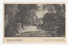 Folkestone, Frog Halt, Hamlin Postcard, A641