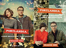 PORTLANDIA SEASONS 1 & 2 ONE TWO (DVD, 2012, 3-Disc Set) BRAND NEW!!! SEALED!!!