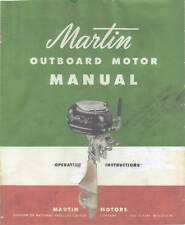 "MARTIN ""60"",  7.2Hp -Outboard Motor Service Manual"
