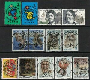1996 Aland Islands complete year set fine used.