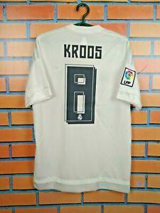 Kroos Real Madrid Jersey 2015 2016 Home S Shirt Adidas Football Soccer AK2494