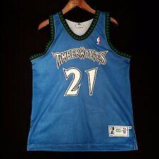 100% Authentic Kevin Garnett Starter Timberwolves Jersey Size 44 L