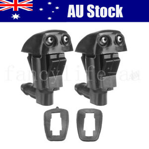 2PC Windshield Washer Nozzle For JEEP Liberty Grand Cherokee DODGE Nit 2007-2011