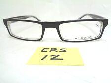 b4eca5ed52f5 Nos JAI KUDO Eyeglasses Frame 996 1744 P01 Black Rectangular (ERS-12)