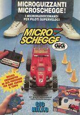 X4177 GIG NIKKO Micro Schegge - Pubblicità 1990 - Advertising