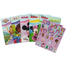 Disney Junior Activity Set Story Book Colouring Book Stickers Sofia Minnie Mouse