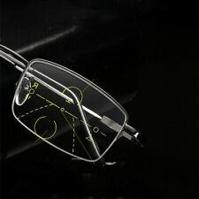 Flexible Memory Multifocal Progressive Anti blue ray Far/Near Reading glasses
