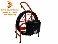 150 foot Self Leveling Sewer Camera, 512 hz Sonde, 150' Model SL 1500S