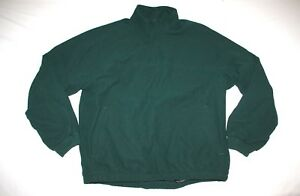Footjoy Dryjoys Wind Rain Half Zip Jacket Men L Green NEW