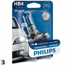 Philips WhiteVision HB4 9006 12V 55W P22d 9006WHVB1 Headlight Bulb 1 piece