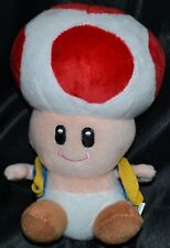 "7"" Toad Good Guys Super Mario Bros. Brothers Plush Toys Dolls Stuffed Animals"