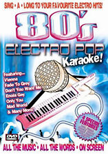 80S ELECTRO POP KARAOKE - DVD - REGION 2 UK
