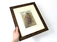 Antique Harvest Mouse Print - Professionally Framed - PJ Smit
