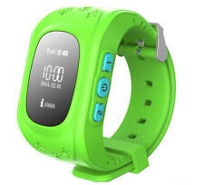 JM11 Smart Wrist Watch GPS Tracking Locater SOS Voice Monitor Intercom For Kids