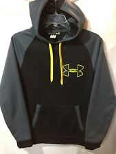 Under Armour Men's Black Gray Loose Pullover Storm Jacket Hoodie Size Sz Small S