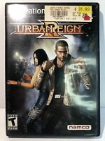 Urban Reign (Sony PlayStation 2 PS2, 2005) W/ Game Case RARE Fast ship