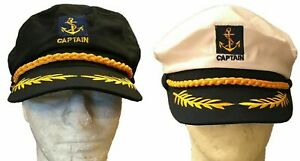 Captain Unisex Sailor Hat Beach Sun Cap Snapback Adjustment Style