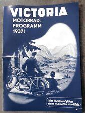 VICTORIA PROSPEKT KR10 15 LUX LUXUS SPORT AERO 1937 OLDTIMER VORKRIEG SAMMLER