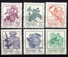 2290 POLAND 1974 FLOWERS PAINTINGS BY STANISLAW WYSPIANSKI MNH