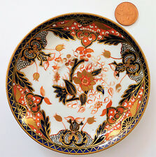 Davenport Longport spare saucer Imari pattern 2617 antique vintage Victorian