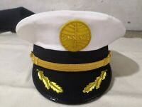 Pan Am captains pilot hat with hand embroided logo