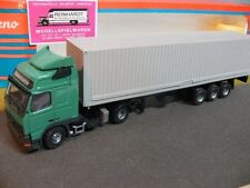 1/50 Tekno Volvo FH12 mit 40-Fuss-Container-Sattelzug