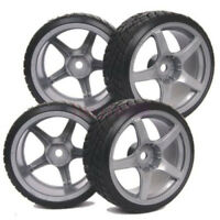 1/10 Rc Drift Car Wheels Tires Set For Yokomo Mst Sakura Tamiya Hpi 3mm Offset