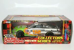 Stacy Compton 2001 #92 Melling Dodge 1:24 Racing Champion Chase The Race New