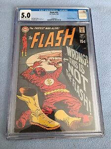 Flash #191 (Sep 1969, DC) CGC 5.0 - JOE KUBERT COVER - GREEN LANTERN APP