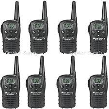 8 Pack Midland Xtra Talk LXT118 Two Way Radio Walkie Talkie FRS 18 Mile Set 22ch