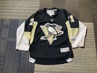 Evgeni Malkin Pittsburgh Penguins Youth Boys S/M Reebok Black Jersey