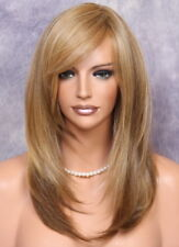 Long Straight Everyday Full Wig Blonde Lit Brown mix CLO 2216 Hairpiece Heat OK