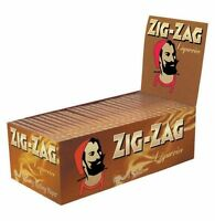 15 Booklets Of Zig Zag Liquorice Standard Size Rolling Papers
