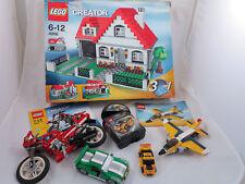 LEGO CREATOR 4956/6912/8866/4893 Haus,Auto,Motorrad uvm Konvolut +OVP+OBA(#117)