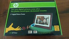 HP Digital picture frame 7""