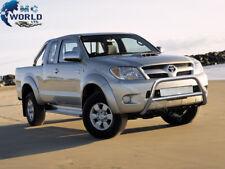 Toyota Hilux Cromo empujar empujar una barra de acero inoxidable Bull Bar - 2006-2010 (NX1)
