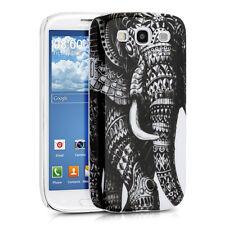 Kwmobile funda protectora para Samsung Galaxy s3 s3 neo elefante blanco gris case cover