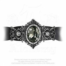 New Alchemy Gothic The St Petersburg Tear Baroque Pewter Crystal Bracelet A113