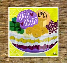 Halo halo | Kitchen Art | Filipino Art | Filipino Food | Filipino Dessert